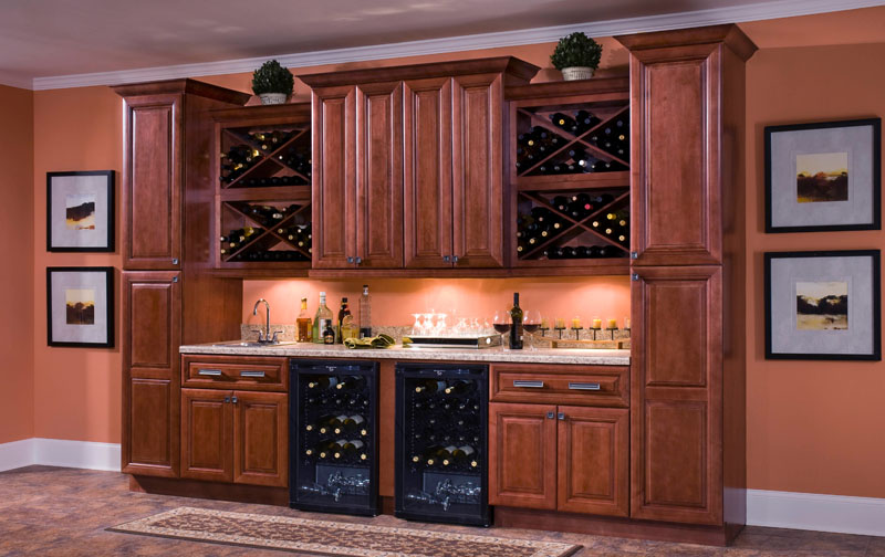 Lexington All Wood Kitchen Cabinets