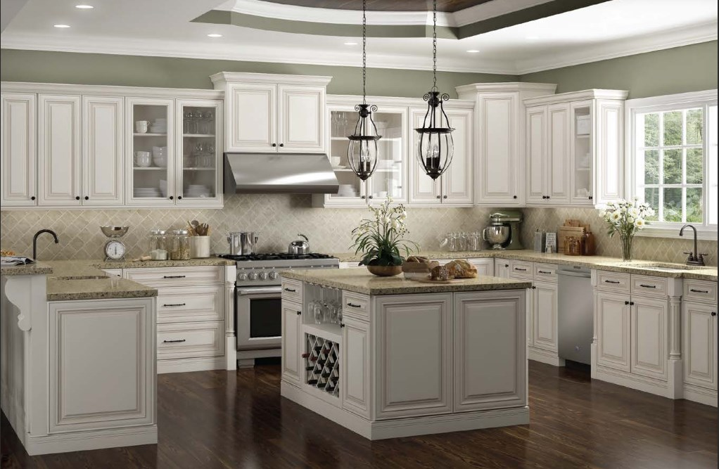 Solid Wood RTA Kitchen Cabinets