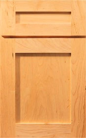 Modena Honey, Shaker style RTA Kitchen Cabinets, Frameless, Wood Beech, Finish Honey, dovetail drawers, full extension soft close drawer glides.