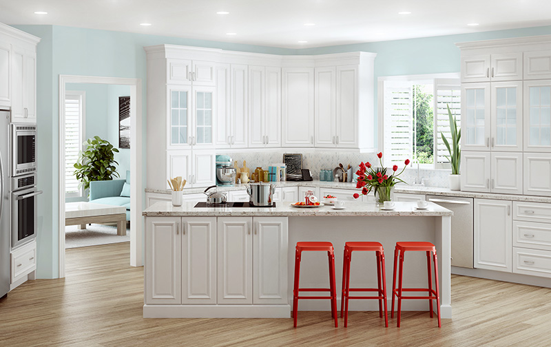 nantucket polar white kitchen cabinets cambridge polar white all wood cabinets 23659