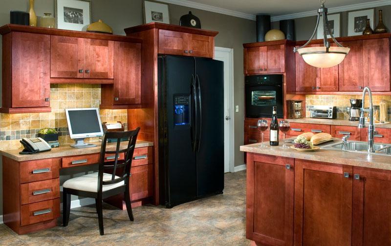 Assembled Kitchen Cabinets Kenyon Cabernet