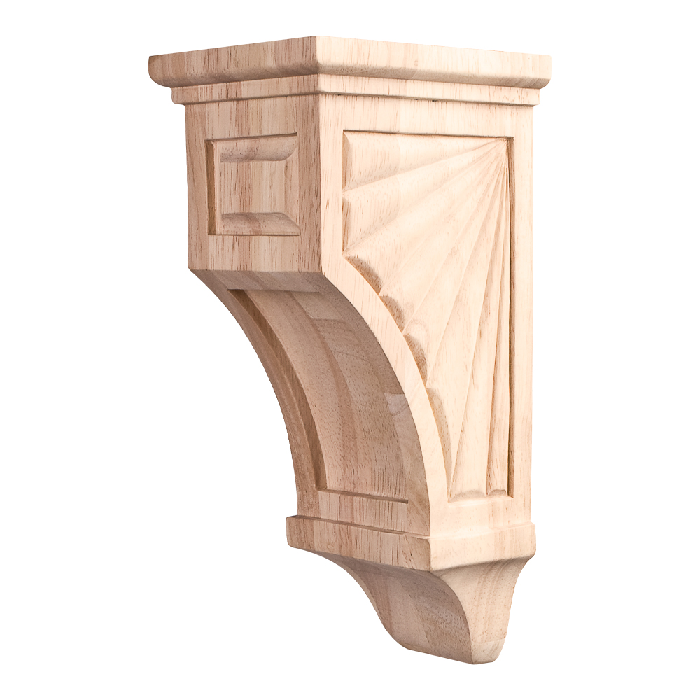 Traditional Scalloped Mission Corbel COR14-1