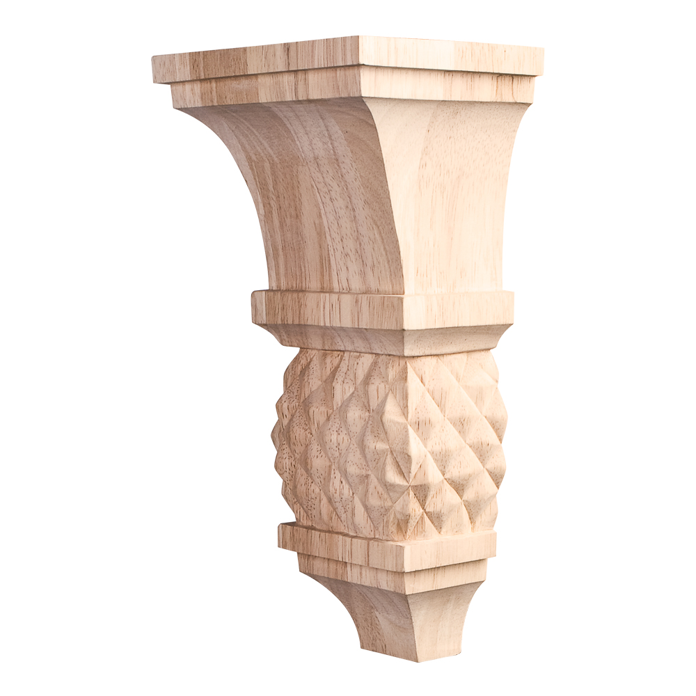Traditional Diamond Colonial Style Corbel COR15-1