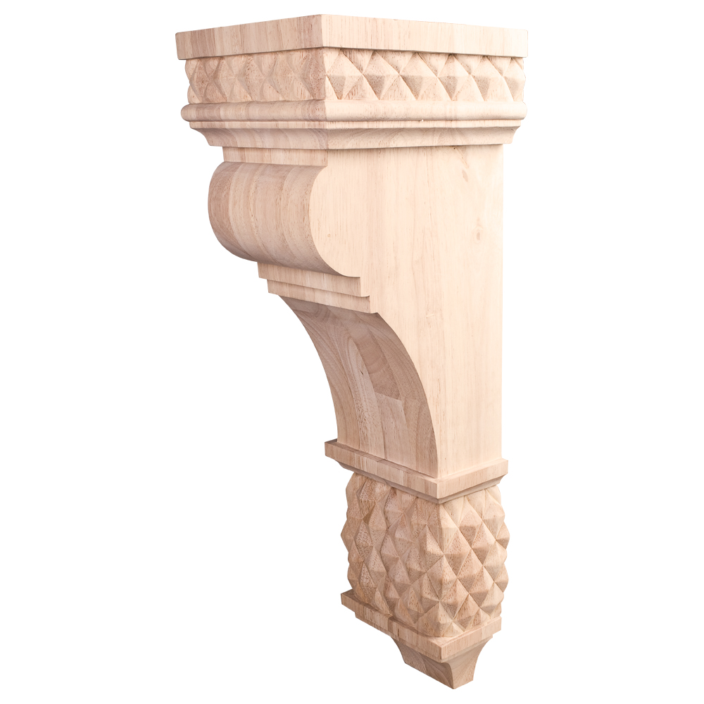 Traditional Diamond Colonial Style Corbel COR15-3