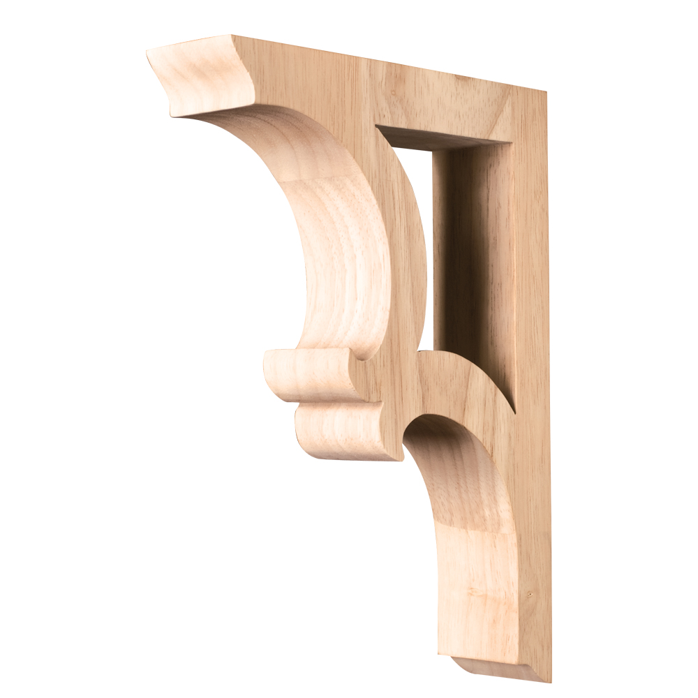 bracket hand carved corv solid wood hand carved unfinished bar bracket