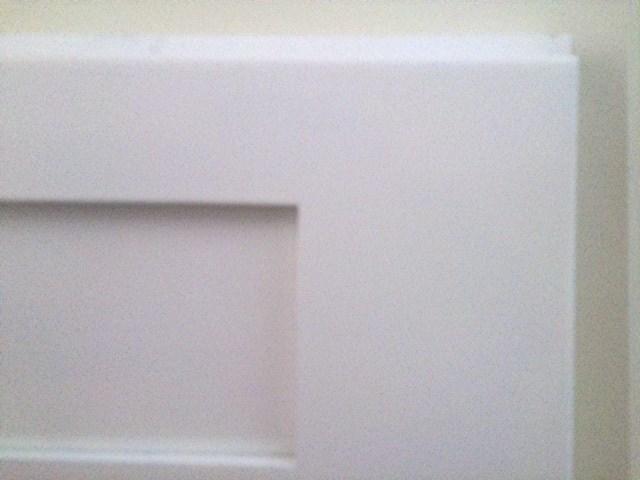 Ice White Shaker RTA Cabinets