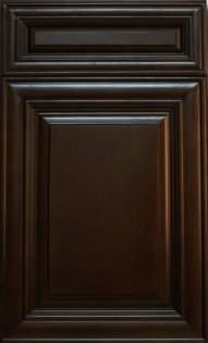 Bristol Chocolate, Maple, full overlay, dovetail drawers, full extension soft close drawer glides