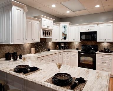 Aspen White RTA Cabinets