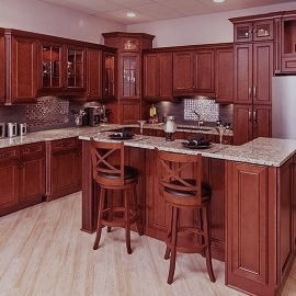 York Cherry RTA Kitchen Cabinets