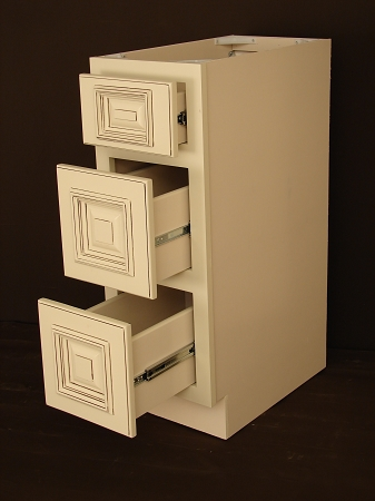 Heritage White Rta Bathroom Cabinet Vanity Drawer Base Vdb1221