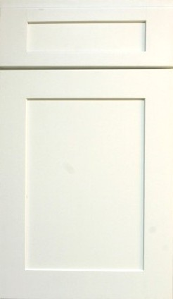 Shaker White Mullion Door MD1542 1