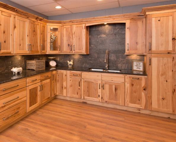 Hickory RTA Kitchen Cabinets