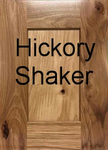 Hickory Shaker RTA Cabinets