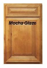 Mocha Glaze RTA cabinets