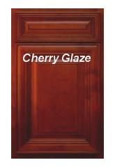 Cherry Glaze RTA cabinets