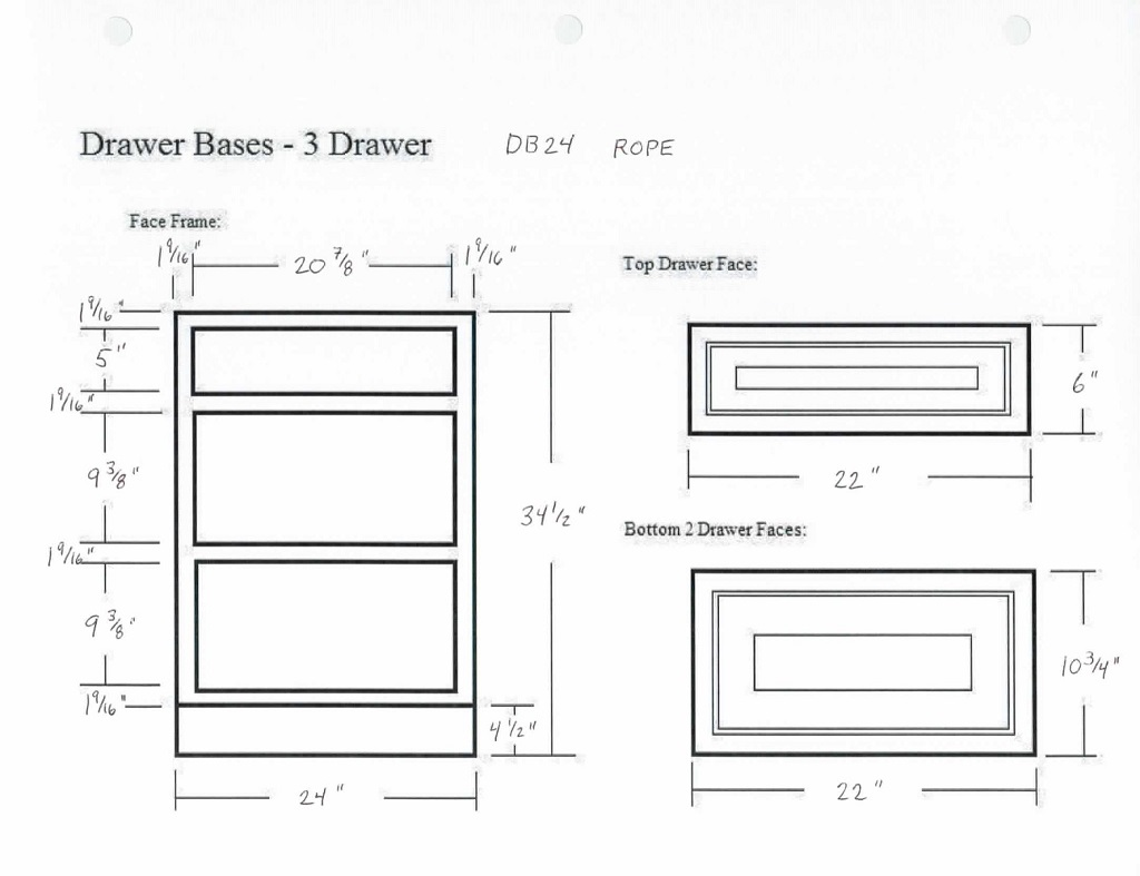 How to measure for kitchen cabinet drawers fanti blog for Kitchen units dimensions