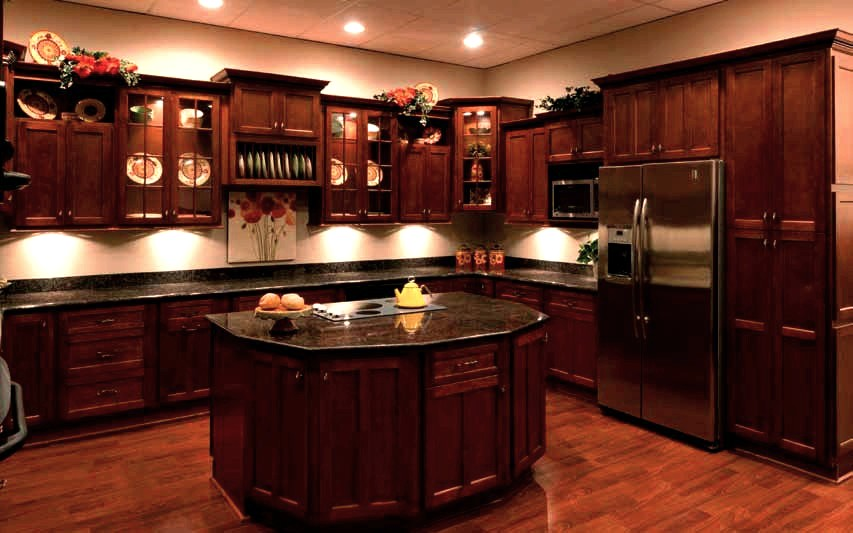 Cherry or maple cabinets mf cabinets for Cherry vs maple kitchen cabinets