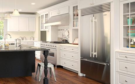 Gramercy White Rta Kitchen Cabinets