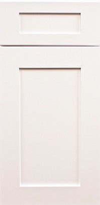 Ice White Decorative End Panel Wall Door EPW1236 1