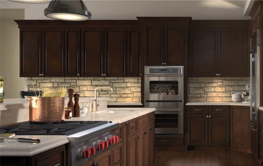 Signature Brownstone Rta Kitchen Cabinets Forevermark
