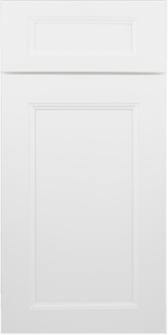 Uptown Shaker White Mullion Door W3036GD 1