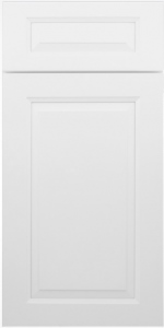 Gramercy White Mullion Door W3036GD 1