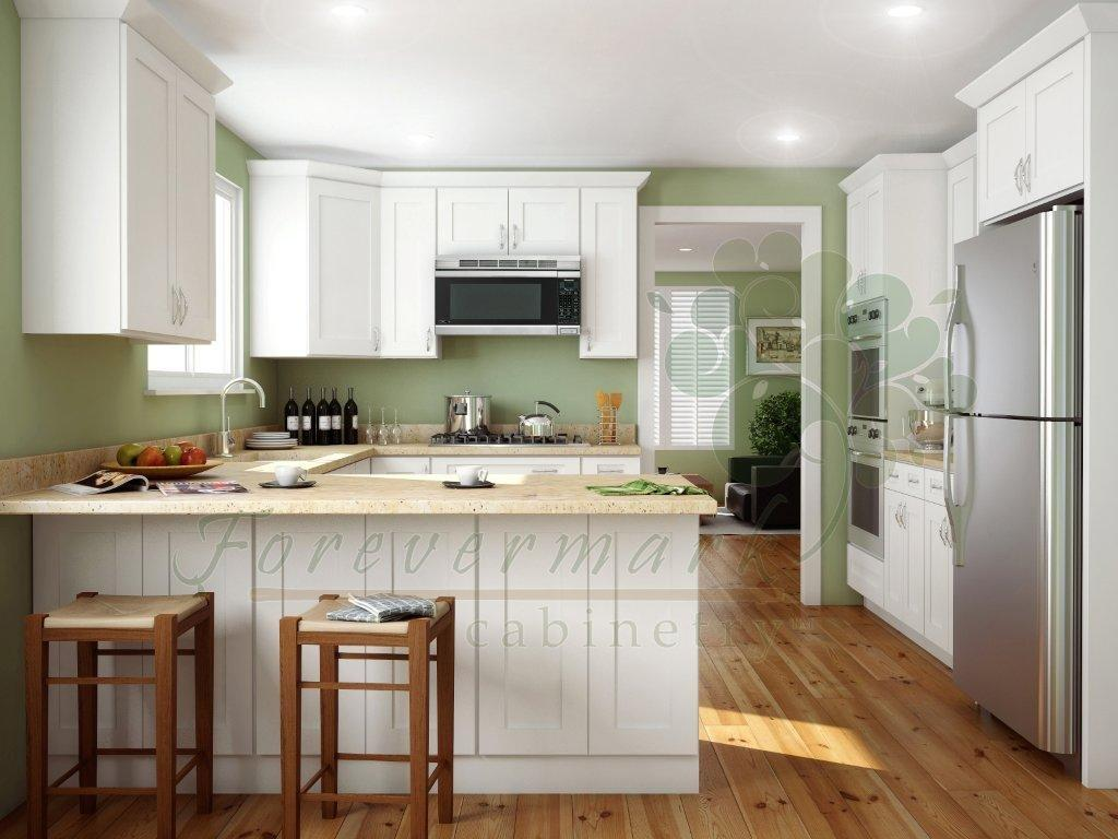 Rta White Kitchen Cabinets White Shaker Kitchen Cabinets Rta Shaker White