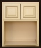 Microwave oven cabinet RTA kitchen microwave cabinet