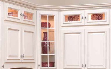 Aspen White Wall Cabinet Stacker W1812BG 2