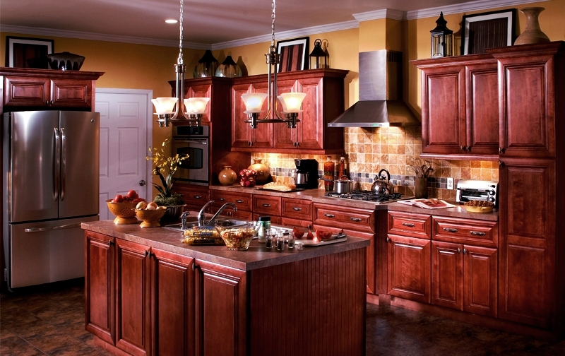 Interior Lexington Kitchen Cabinets lexington cabernet cabinet all wood construction full overlay maple kitchen bath cabinets