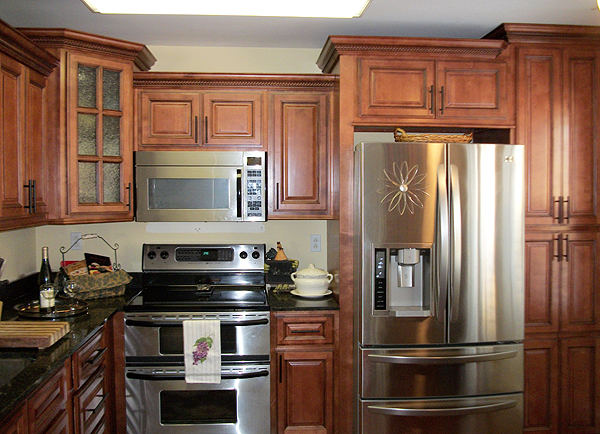 Maple RTA Pantry Cabinets Online Oven Cabinet