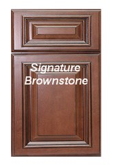 Signature Brownstone RTA Cabinets