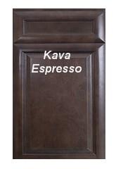 Kava Espresso RTA Cabinets