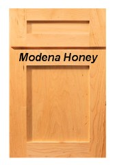 Modena Honey RTA Cabinets