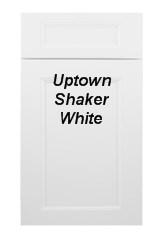 Uptown Shaker White RTA Cabinets