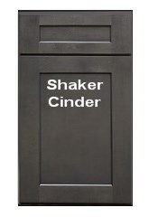 Cinder Shaker RTA Cabinets