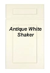 Antique White Shaker RTA Cabinets
