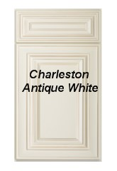 Charleston Antique White RTA Cabinets