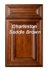 Charleston Saddle Brown RTA Cabinets