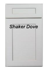 Shaker Dove RTA cabinets