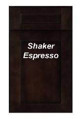 Shaker Espresso RTA Cabinets
