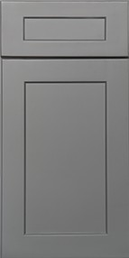 Shaker Grey Wall Diagonal Corner Cabinet For Glass Door WDC2430GD 1
