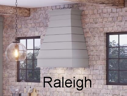 Tapered range hood