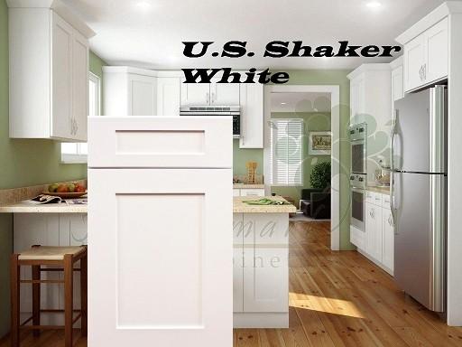 RTA Kitchen Cabinets - White RTA Cabinets Free Shipping