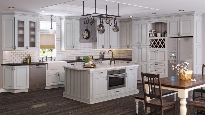 tahoe dove kitchen cabinets