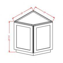 Angle base cabinet, rta cabinets