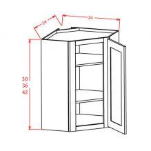 RTA Wall diagonal corner cabinet
