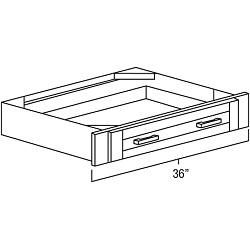 vanity knee drawer
