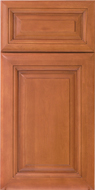 Langston Cinnamon All Wood Cabinetry, full overlay maple kitchen or bath cabinets