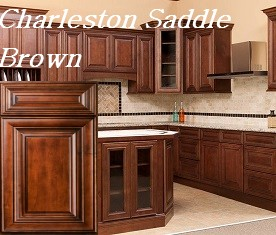 Nice Charleston Antique White RTA Kitchen Cabinets Charleston Saddle Brown RTA  Kitchen Cabinets ...